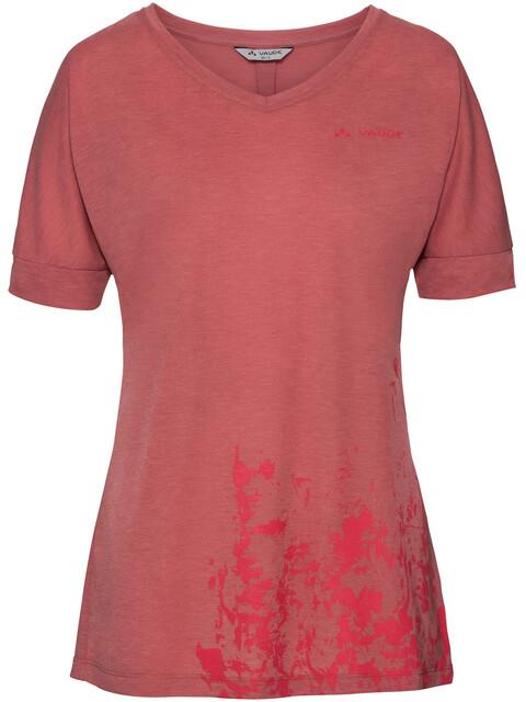 VAUDE Skomer V-Neck Shirt Women wild carrot
